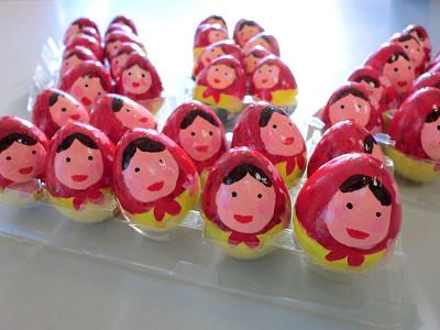 まりちゃん作のイースターエッグ