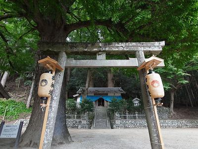 宵宮の神社