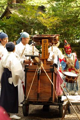 伊勢大神楽@御杖神社 2012.11.04