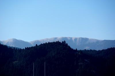 今朝の三峰山 2013.03.04