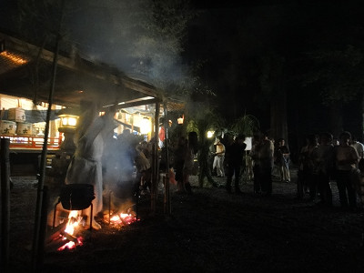 御杖神社の祇園祭