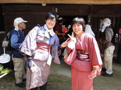 2010 伊勢本街道「納涼の旅」初日(松本家)