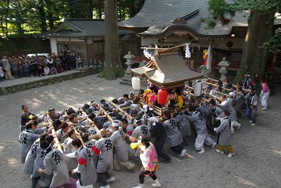 御杖神社の太鼓台
