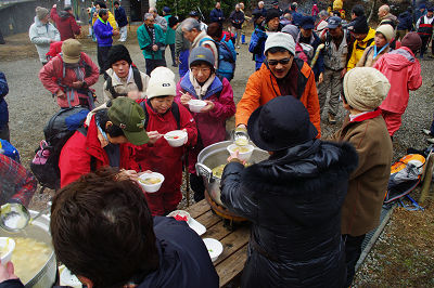 三峰山 山開き 20100109